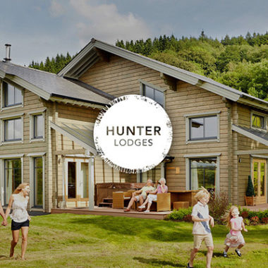 Hunter Lodges Branding