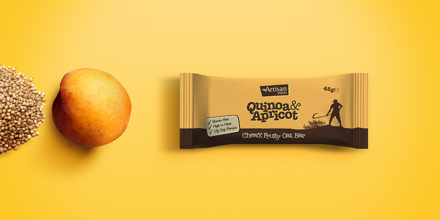 Apricot Oat Bar Packaging Design