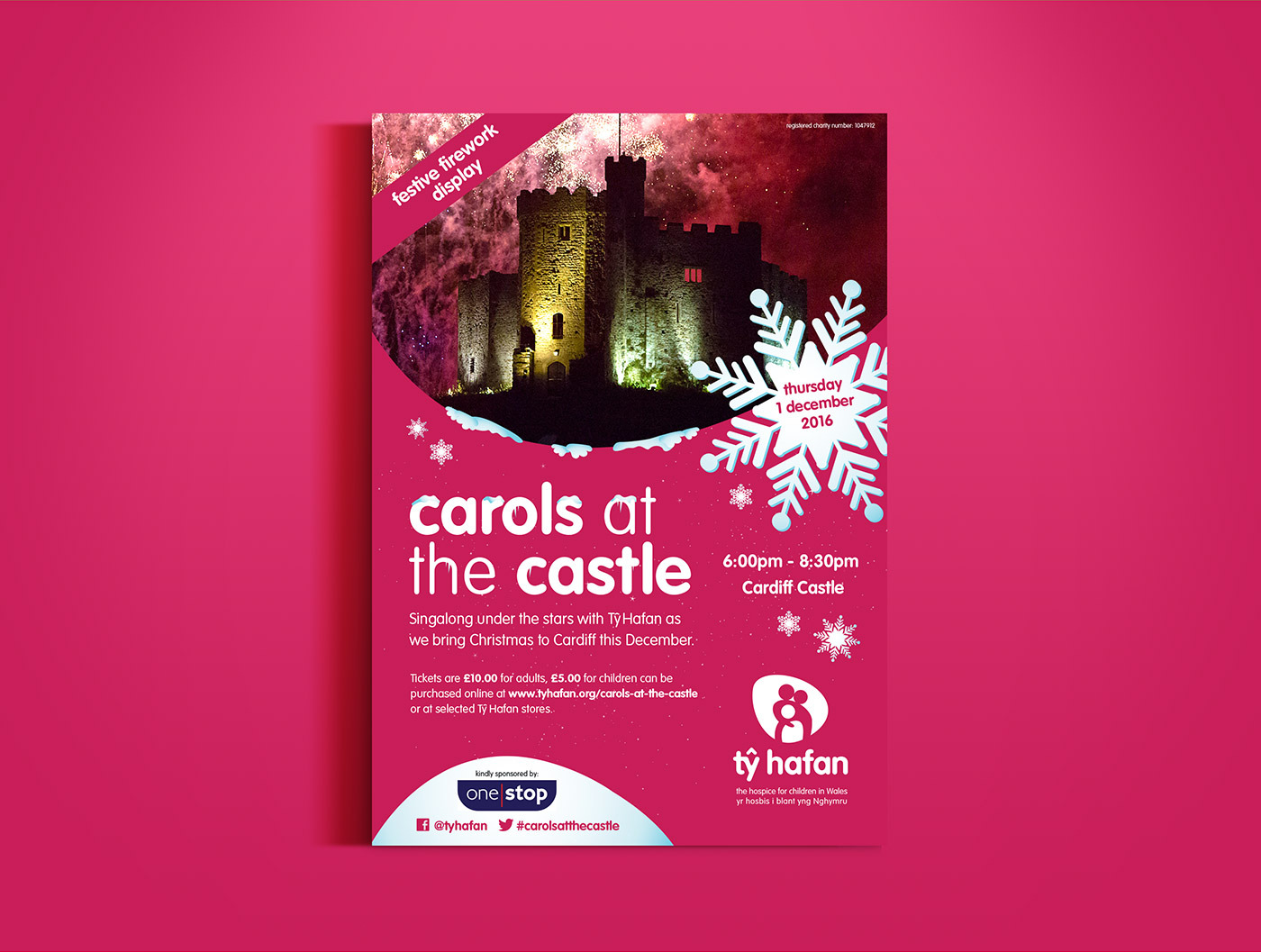 Ty Hafan Carols At The Castle Flyer